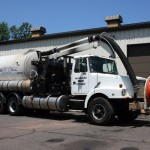 Combo Sewer Vacuum & High Pressure Cleaning Truck
