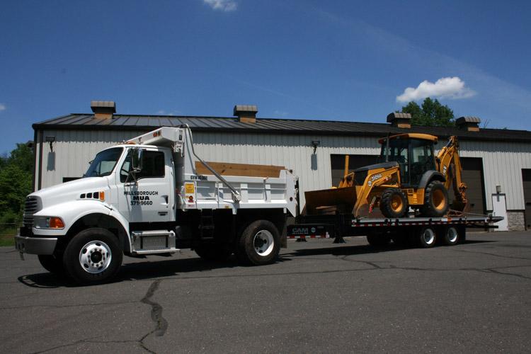 Dump Truck & Back Hoe