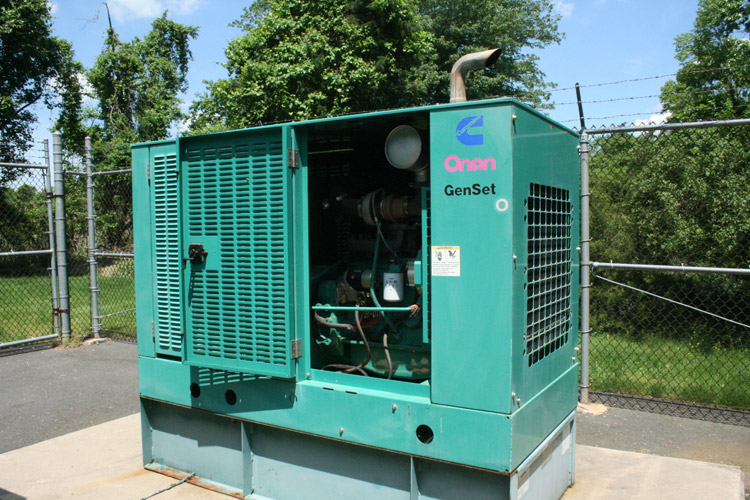 Carriage Hill Pumping Station: Stand-By Generator