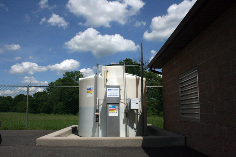 Gumble Court Pumping Station: Bioxide Tank – Odor Control